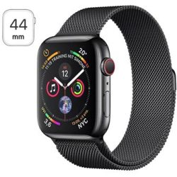 Apple Watch Series 4 LTE MTX32FD A Ruostumaton Teräskuori Milanolaisranneke 44mm 16Gt Space Black