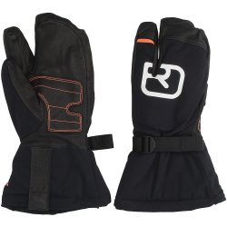 Ortovox Swisswool Pro Lobster Gloves musta