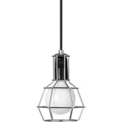 Design House Stockholm Work Lamp valaisin hopea