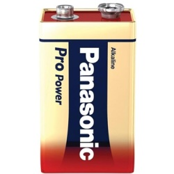 Panasonic Alkaline Paristo 6LR61 9V Pro Power 1kpl