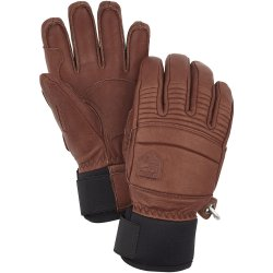 Hestra Leather Fall Line Gloves ruskea