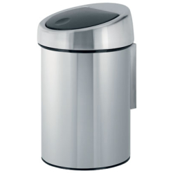 Brabantia Touch Bin roska astia 3 litraa fingerprint proof