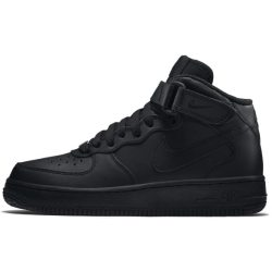 Nike Air Force 1 Mid 06 Kids' Shoe Black