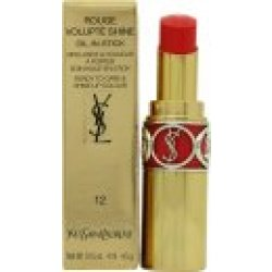 Yves Saint Laurent Rouge Volupté Shine Lipstick 12 Corail Incandescent