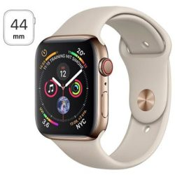 Apple Watch Series 4 LTE MTX42FD A Ruostumaton Teräskuori Urheiluranneke 44mm 16Gt Kulta