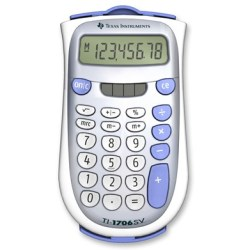 Texas Calculator Ti 1706sv Solar