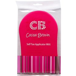 Self Tan Applicator Mitt Pink